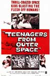 Teenagers From Outter Space Sci-Fi film